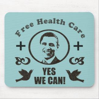Atención sanitaria libre podemos sí Obama Mouse Pads