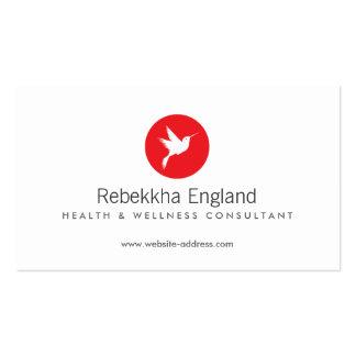 Atención sanitaria natural del logotipo del plantillas de tarjetas personales