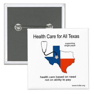 Atención sanitaria para todo el Pin de Tejas Pin Cuadrada 5 Cm