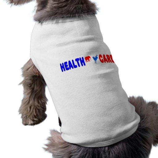 Atención sanitaria playera sin mangas para perro