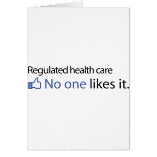Atención sanitaria regulada felicitaciones