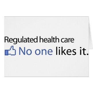 Atención sanitaria regulada tarjeton