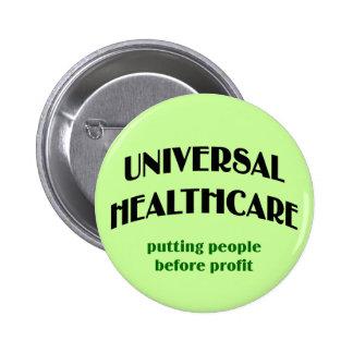 Atención sanitaria universal pins