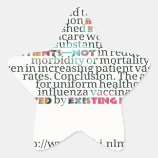 atención sanitaria workers3.png pegatina en forma de estrella