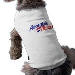 Ateo adorable camisetas mascota