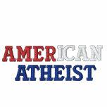 Ateo americano sudadera encapuchada