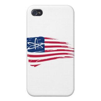 Ateo americano iPhone 4/4S funda