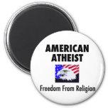 Ateo americano imán