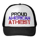 Ateo americano orgulloso gorros
