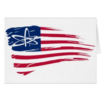 Ateo americano tarjeta de felicitación