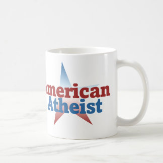 Ateo americano tazas de café