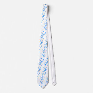 Ateo azul A Corbata Personalizada