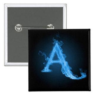 Ateo azul A Pin
