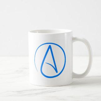 Ateo azul A Taza Clásica