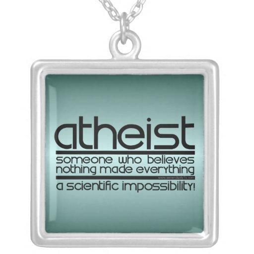 Ateo Colgantes Personalizados