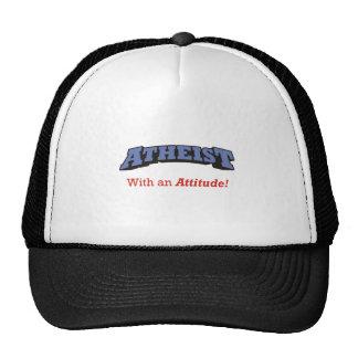 ¡Ateo - con una actitud! Gorro
