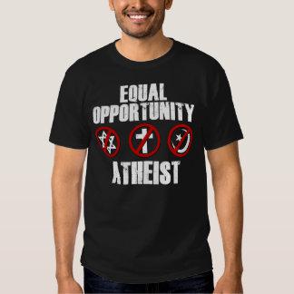 Ateo de la igualdad de oportunidades polera