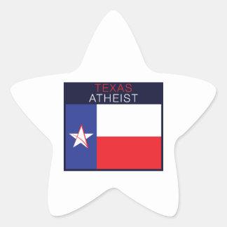 Ateo de Tejas Pegatina En Forma De Estrella