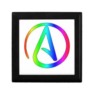 Ateo del arco iris caja de regalo