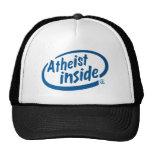 Ateo dentro gorras