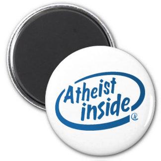 Ateo dentro iman para frigorífico