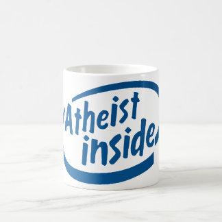 Ateo dentro tazas