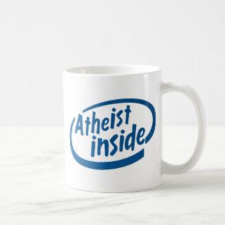 Ateo dentro taza