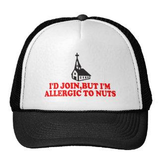 Ateo divertido gorras