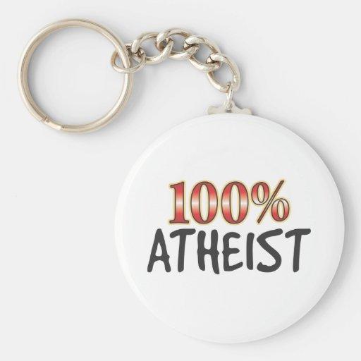 Ateo el 100 por ciento llaveros personalizados