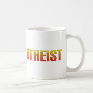 Ateo, estilo de la cerca de alambre del infierno taza clásica