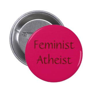 Ateo feminista pin