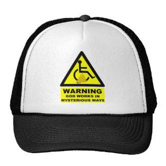 Ateo hilarante gorras de camionero