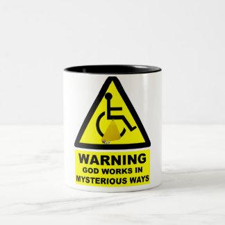 Ateo hilarante tazas