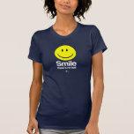 Ateo - la sonrisa allí no es ningún infierno camiseta