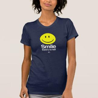 Ateo - la sonrisa allí no es ningún infierno poleras