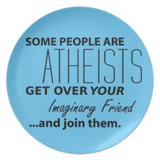 Ateo militante: ¡Alguna gente es ateos! Platos