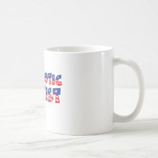 Ateo patriótico tazas de café