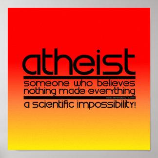 Ateo Póster