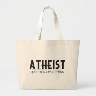 Ateo - pregunta todo bolsas de mano