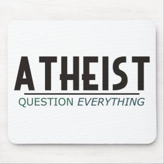 Ateo - pregunta todo tapete de ratón
