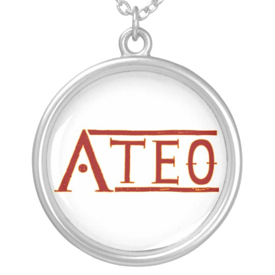 Ateo Silver Plated Necklace