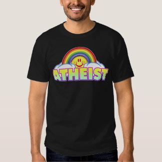 Ateo variable del arco iris del estilo/del color remeras