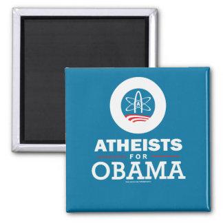 Ateos para Obama Imán Para Frigorifico