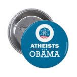 Ateos para Obama Pins