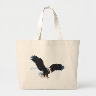 Aterrizaje calvo de American Eagle Bolsa De Tela Grande