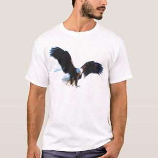 Aterrizaje calvo de American Eagle Playera
