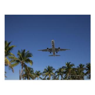Aterrizaje de aeroplano en Miami Postal
