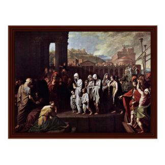 Aterrizaje de Agrippina en Brundisium por el oeste Postales