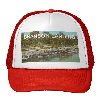 Aterrizaje de Branson del vintage Gorros Bordados