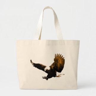 Aterrizaje de Eagle Bolsa De Tela Grande